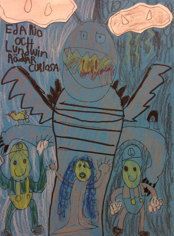Edario och Lundwin räddar Curiosa