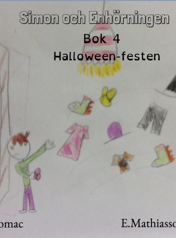 Simon och enhörningen: Bok 4 – Halloween-festen