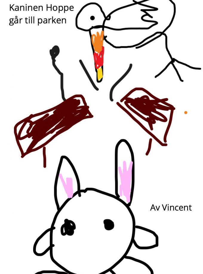 Kaninen Hoppe går till parken