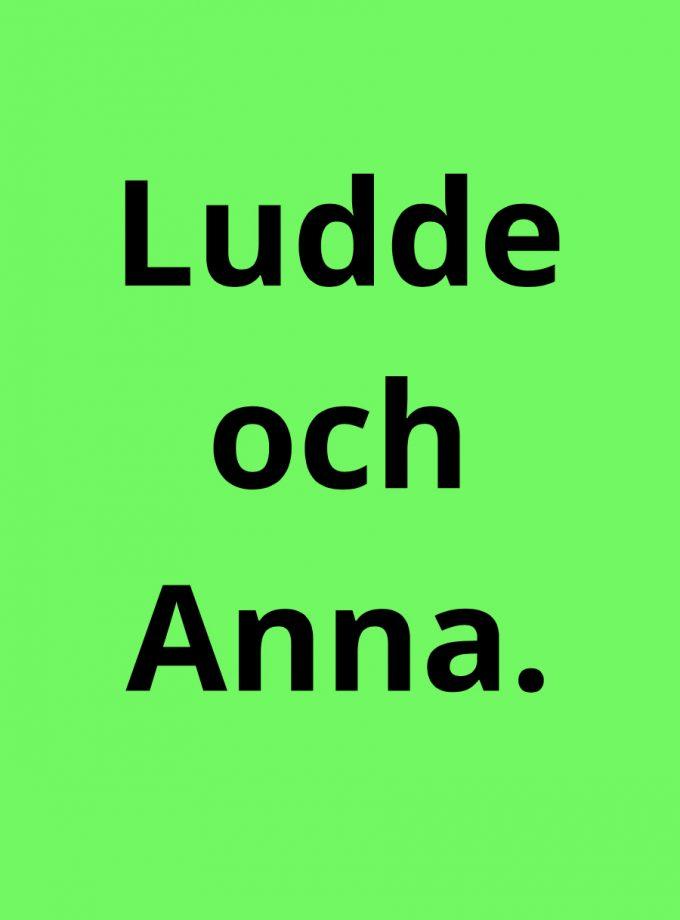 Ludde och Anna